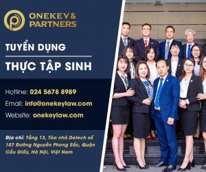 Onekey & Partners tuyển dụng vị trí Thực tập sinh